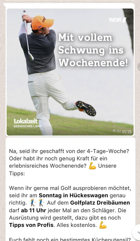 Wdr Lokalzeit Whatsapp